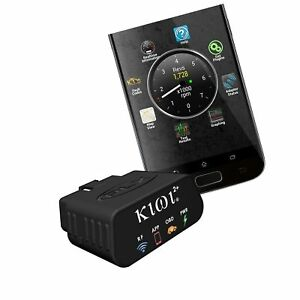 Plx Devices Kiwi 2 Bluetooth Obd Car To Smartphone Wireless Link And Scan To