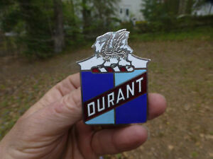 Durant Radiator Emblem Badge Ornament top Quality Reproduction