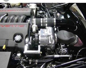 Corvette C6 Ls3 Procharger Ho intercooled Supercharger System For 08 13