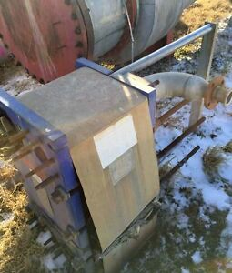 Plate Frame Heat Exchanger Alfa Laval 330 7 Sq Ft