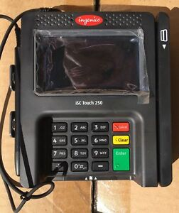 Ingenico Isc Touch 250 Smart Terminal Isc250 31t2591a Pos 60 Off
