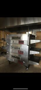 Commercial Pizza Oven Q matic 3pieces
