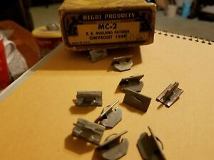 1939 Chevrolet Master 85 Deluxe Coupe Sedan Nos Running Board Molding Clips