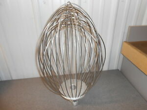 60 Quart Wire Whip Whisk For 60 Quart Mixer Hobart Vmlh60d Free Shipping