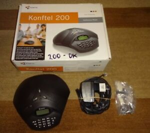 Konftel 200 Desktop Conference Phone Analog single Line
