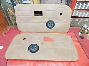 Mgb Right Left Interior Door Panels W Sony Speakers