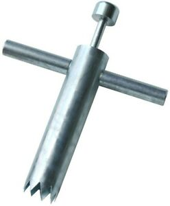 Core Cutter Steel Roofing Tool Removable Handle Sharpened Teeth Long Lasting