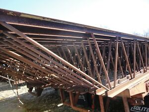 Building Steel Bar Joist 28 Inches High By 40 Feet Long By 5 Inch Wide