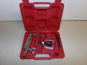 Cal Van Tools 3 16 1 2 Double Flaring Tool Kit No 163 W Case Free Shipping