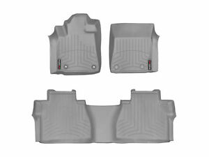 Weathertech Floorliner For Toyota Tundra Double Cab 2014 2018 1st 2nd Row Grey