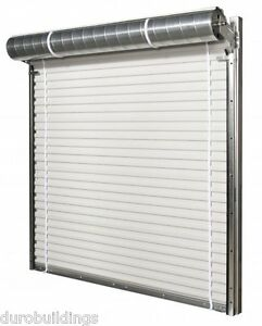 Duro Steel Janus 8 Wide By 9 Tall 1950 Series Insulated Roll up Door Direct