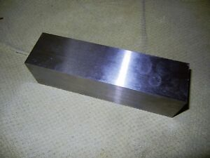 Oil Hard Ground O 1 Tool Steel Flat Stock 2 Thick X 2 X 7 3 8 Long