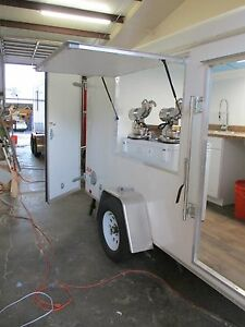 Paradise Trailers Concession Cart Shaved Ice Snow Cone Trailer Food Truck