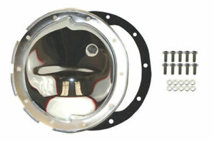 Chrome Steel Chevy Gm 10 Bolt Differential Cover For 8 5 Inch Ring Gear