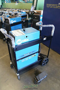 350 Amp Used Miller Ac dc Tig Stick Water Cooled Welder Dynasty 350 A5041