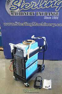 350 Amp Used Miller Ac dc Tig Stick Water Cooled Welder Dynasty 350 A5034