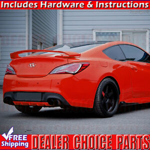 For 2010 2016 Hyundai Genesis 2dr Coupe Sequence Style Spoiler Wing Unpainted