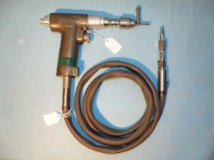 Stryker 277 84 Orthopedic Reamer Pneumatic With Hose Jacobs Chuck