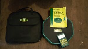 Refco Ref meter 4681823 Refrigerant Charging Scale W Carrying Case Manual