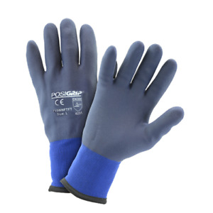 Medium Winter Microfoam Dipped Gloves With Touch Capability Dozen