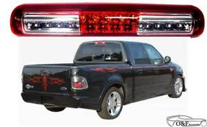 1997 2003 Ford F 150 F150 Led Cargo Lamp Red Clear Lens Third Brake Tail Light