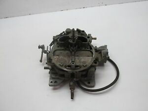78 79 Chevy Truck Rochester Quadrajet 4bbl Carb Carburetor 17059205 For Parts