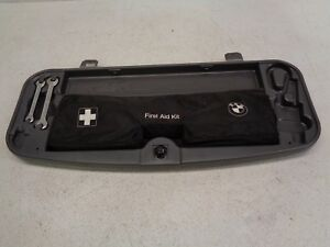 2002 2003 2004 2005 Bmw 745i E65 Trunk Emergency Tool Box First Aid Kit Oem