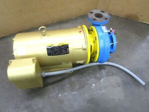 Sulzer 10 25957 140001 1891 2 3 4 x 2 1 4 40 Hp Centrifugal Pump 230 460v 3ph