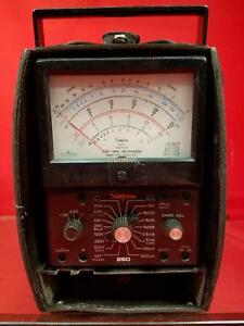 Simpson 260 series 6xl Multimeter Sn At6546
