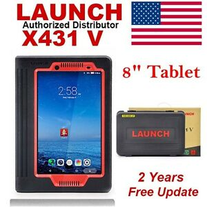 From Usa Launch X431 V Tablet Diagnostic Scan Tool Code Reader Free Update 8
