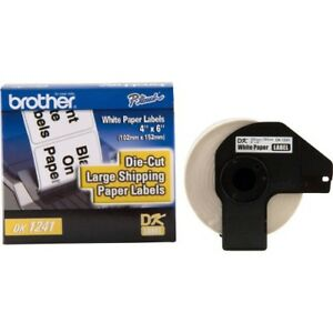 Brother Dk1241 Large Shipping White Paper Labels