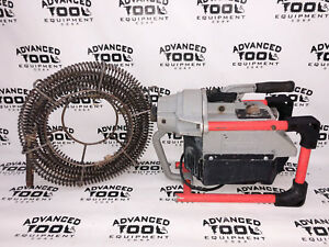 Ridgid K 60 Sectional Machine Drain Sink Toilet Spetic Tank Snake Cleaner