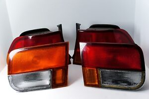 96 98 1996 1998 Honda Civic Coupe Oem Tail Lights Taillights Left