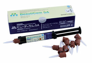 Beauticem Sa Auto mixing Clear Fluoride Releasing Self adhesive Resin Cement fda