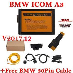 For Bmw Icom A3 Professional Diagnostic Tool 2017 12v Get Free Bmw 20pin Cable