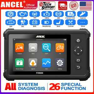 Ancel Fx9000 Automotive Obd2 Scanner Abs Tps Transmission Car Diagnostic Tablet