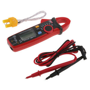 Uni t Ut210d Digital Clamp Multimeter Ac dc Volt Amp Temp Meter True Rms