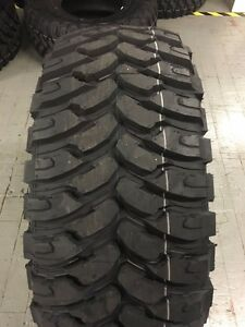 4 New 33 12 50 20 Ginell Mt Tires 12 50r20 R20 Truck 33x12 50 20 10ply