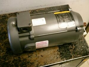 Baldor Type 3428p Dc Motor 34 6549 3946g3 0 75hp 1800rpm 180v 3 7a Used