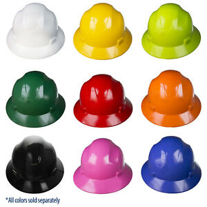 20 Hard Hat Full Brim Jorestech 4 Point Ratchet Suspension Construction Safety