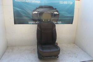 Front Seat Passenger Nissan Murano 17 Brown Leather Right