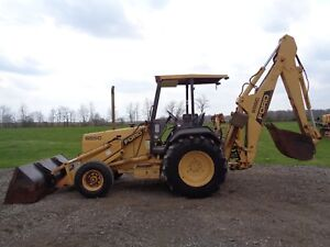 1990 Ford new Holland 655c Backhoe Orops 2wd