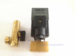 Automatic Electronic Digital Timed Air Compressor Tank Drain Valve 110v 1 2