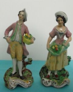 Lovely Pair Of Staffordshire Figurines