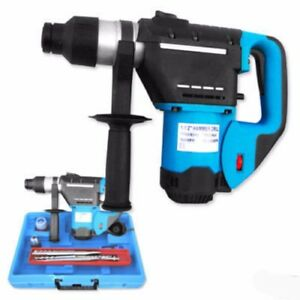 1 1 2 Sds Rotary Roto Hammer Demo Demolition Drill Kit For Concrete