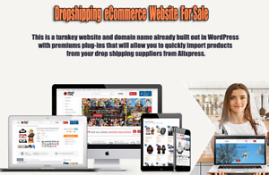Niche Ecommerce Website For Sale Dropship Business In A Box