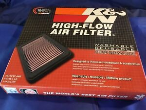 Kn 33 2443 High Performance Replacement Air Filter For 2013 2016 Toyota Avalon