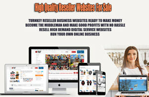 Reseller Website For Sale Turnkey Online Business Make Money Selling Websites