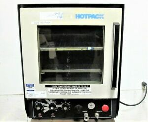 Hotpack 273700 Vacuum Oven 115v 1ph To 280 c Max 12 x18 x12 2 Shelves