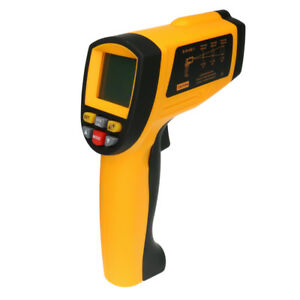 Lcd Digital Ir Infrared Thermometer Temperature Meter 200 1650 c Non contact